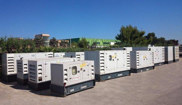 Noleggio Gruppi Elettrogeni - MediPower